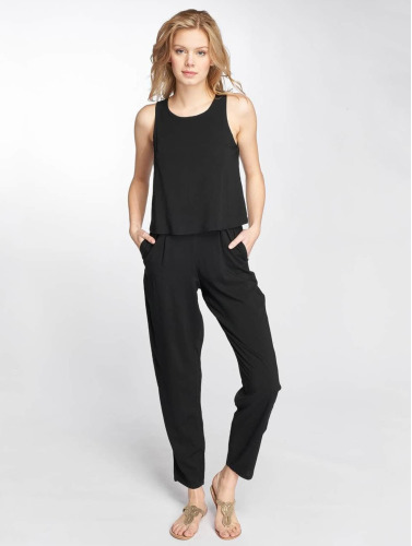 Sublevel Mujeres Monos / Petos Zipper in negro