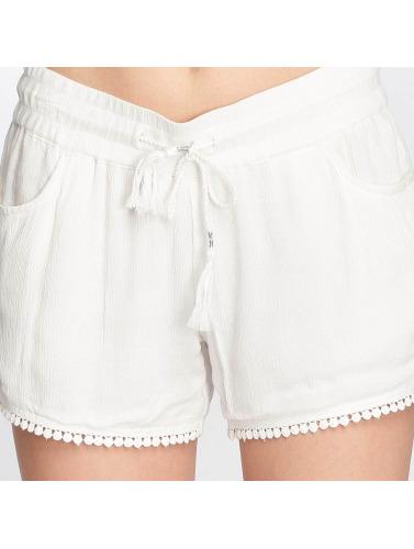 Sublevel Mujeres Pantalón cortos Lace in blanco