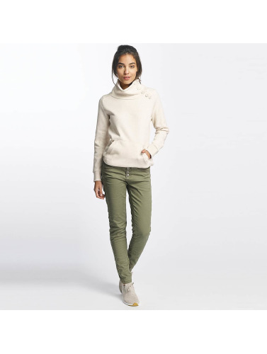 Sublevel Damen Pullover High Neck in beige