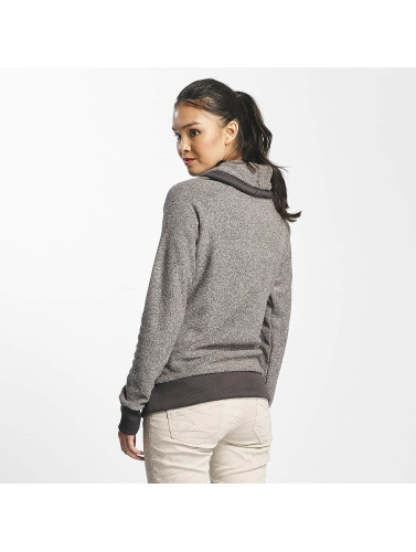 Sublevel Damen Pullover High Neck in grau