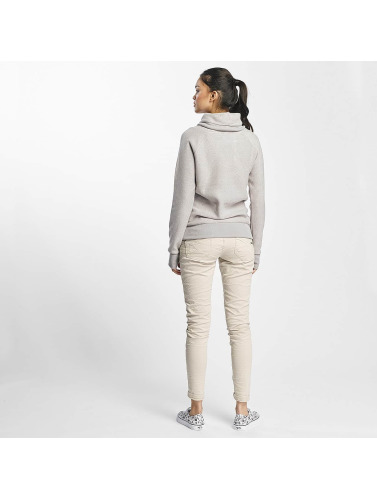 Sublevel Damen Pullover High Neck in grau