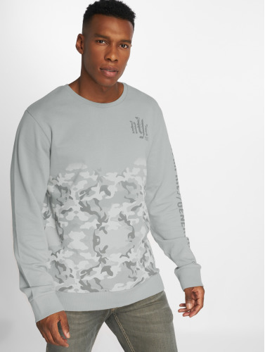 Sublevel Herren Pullover nyc Youth in grau