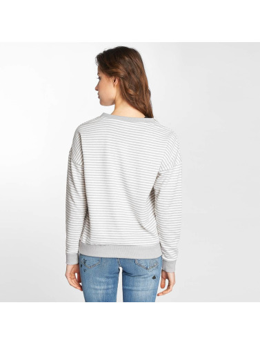Sublevel Damen Pullover Striped in grau