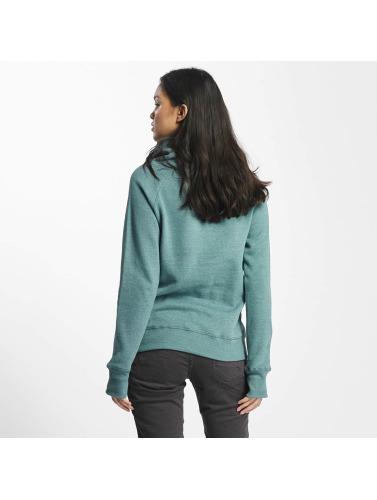 Sublevel Damen Pullover High Neck in grün