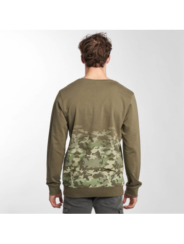 Sublevel Herren Pullover nyc Youth in olive