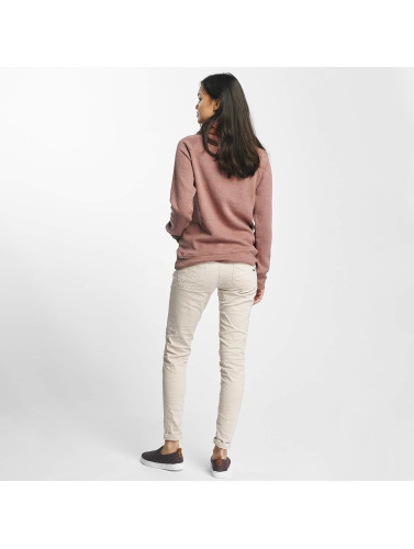 Sublevel Damen Pullover High Neck in rosa