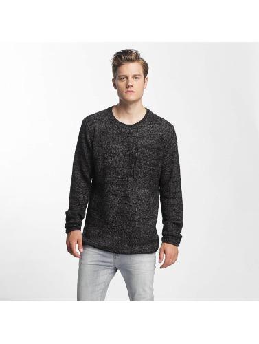 Sublevel Herren Pullover Knit in schwarz