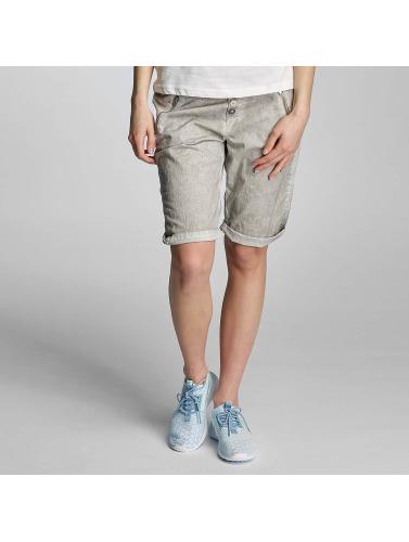 Sublevel Damen Shorts Pepita in grau