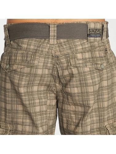 Sublevel Herren Shorts Cargo in grau Billig Billig Rabatte Begrenzt Erhalten Authentisch Zu Verkaufen dxJfu
