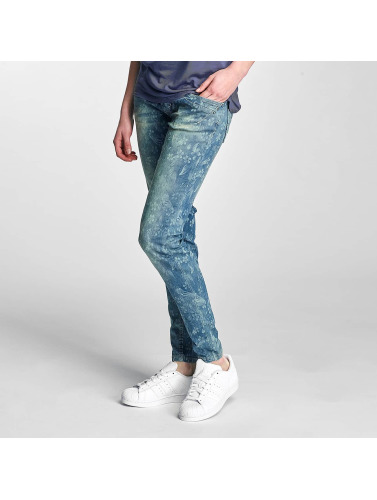 Sublevel Damen Skinny Jeans Lisi in blau
