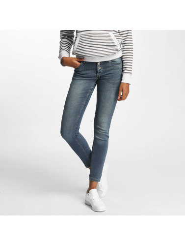 Sublevel Damen Skinny Jeans Kiana in blau