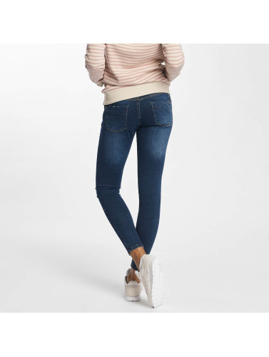 Sublevel Damen Skinny Jeans Palila Super Stretch in blau