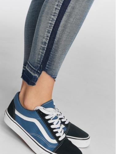 Sublevel Damen Skinny Jeans Destroyed in blau