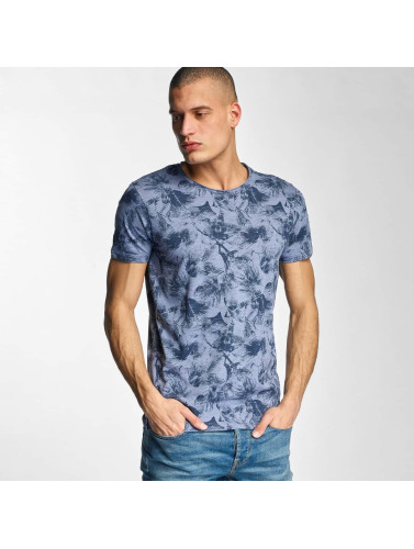 Sublevel Herren T-Shirt Hawaii in blau