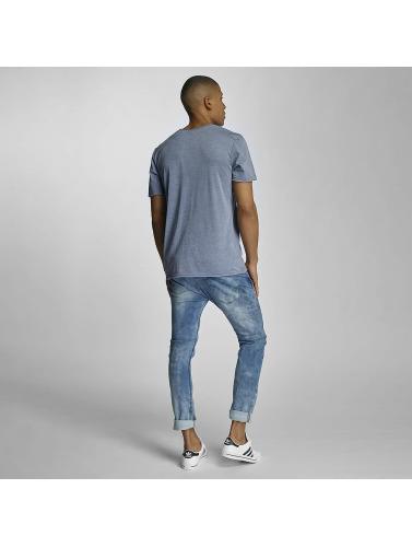 Sublevel Herren T-Shirt Live Your Life in blau