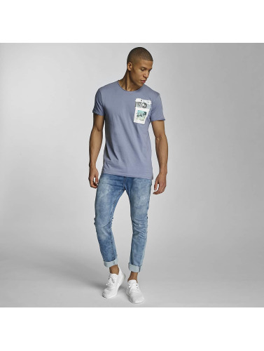 Sublevel Herren T-Shirt Summer Vibes Only in blau