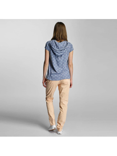 Sublevel Damen T-Shirt Hearts in blau