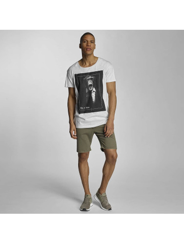 Sublevel Herren T-Shirt like a boss in grau