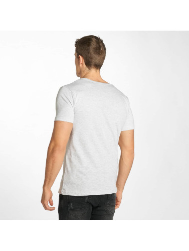 Sublevel Herren T-Shirt Lah Bay in grau