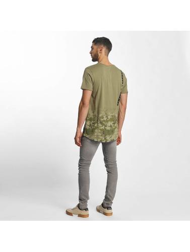Sublevel Herren T-Shirt Camouflage Print in olive