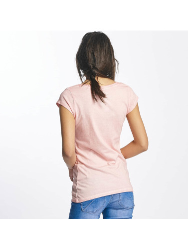 Sublevel Damen T-Shirt Superman in rosa