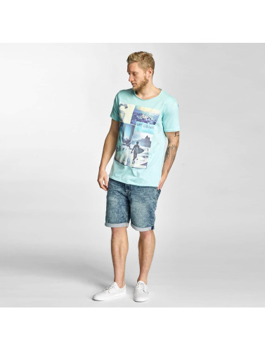 Sublevel Herren T-Shirt Surf Culture in türkis
