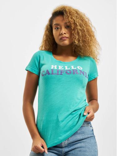 Sublevel Damen T-Shirt Hello in türkis