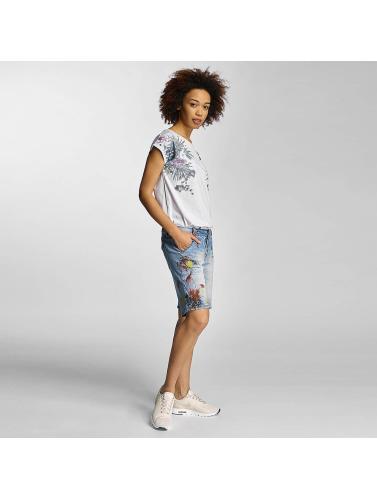 Sublevel Damen T-Shirt Prim in weiß