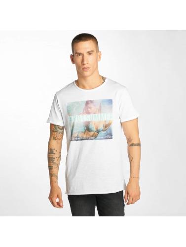 Sublevel Herren T-Shirt Hot Summer in weiß
