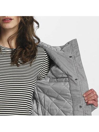 Sublevel Damen Übergangsjacke Hooded Classic in grau
