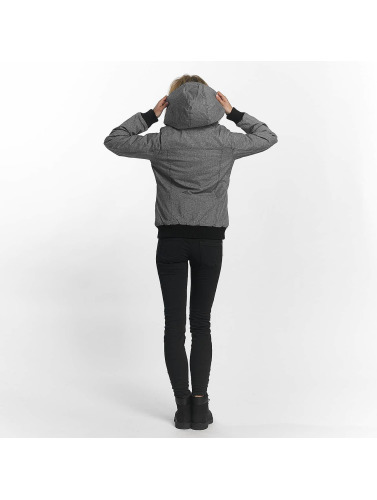 Sublevel Damen Übergangsjacke Asymmetric in grau