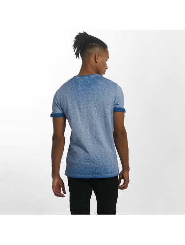Superdry Hombres Camiseta Orange Labl Low Roller in azul