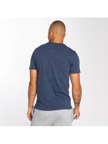 Superdry Hombres Camiseta Classic Standard in azul