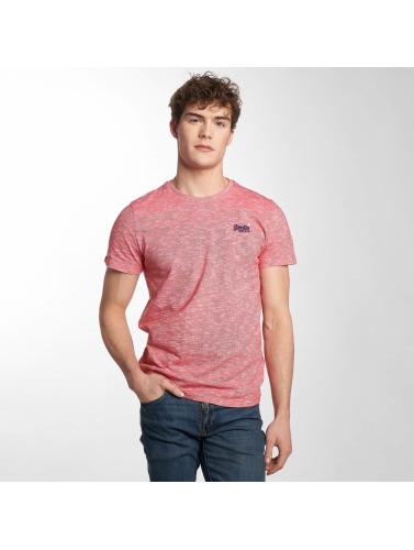 Superdry Hombres Camiseta M10007OQ in rojo