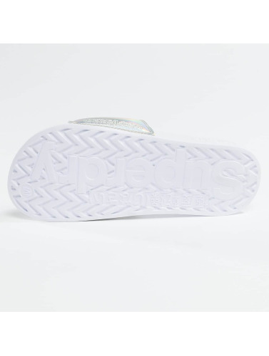 Superdry Mujeres Chanclas / Sandalias Pool in plata