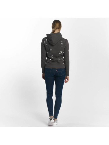 Superdry Damen Hoody Premium Goods Doodle Entry in grau