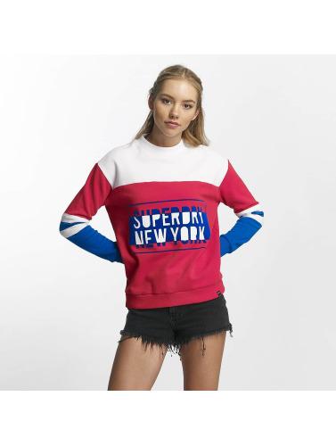 Superdry Mujeres Jersey Pacific Farge Bock I Colorido bestselger rabatt nye ankomst kjøpe billig butikk eUiQy