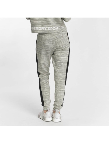 Superdry Damen Jogginghose Sport Gym Technical Luxe in grau