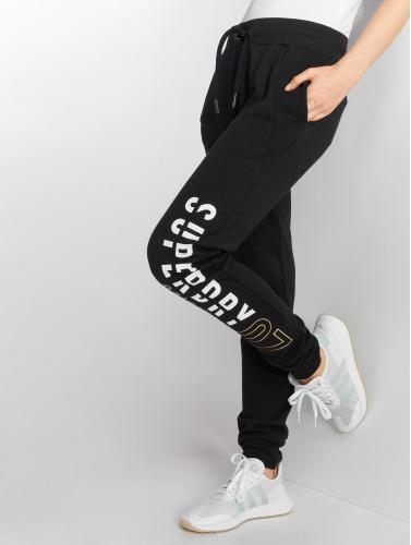 Damen Superdry Damen in Superdry Panelled Dimensional Panelled Dimensional in schwarz schwarz Jogginghose Jogginghose H0rwOgq0Z