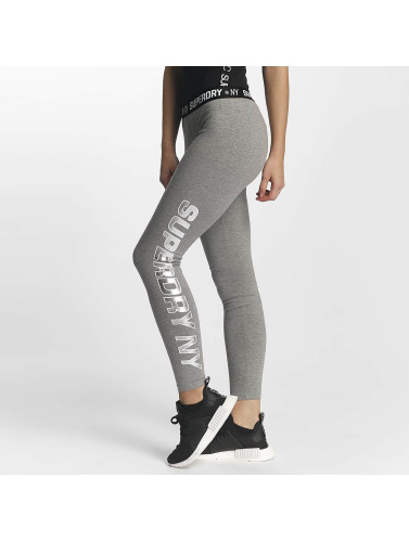 Superdry Damen Legging Sport Tape in grau