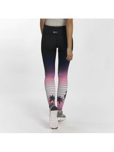 Superdry Damen Legging Sport Printed in schwarz