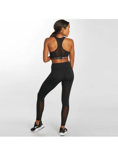 Superdry Damen Legging Sport Studio in schwarz