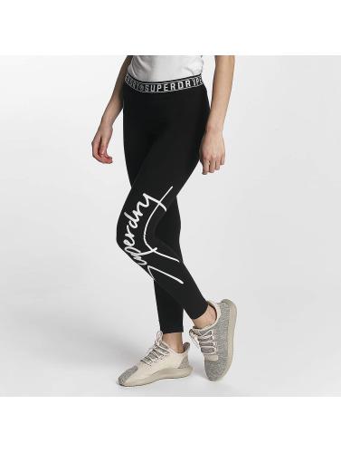 Superdry Mujeres Legging/Tregging Skater in negro