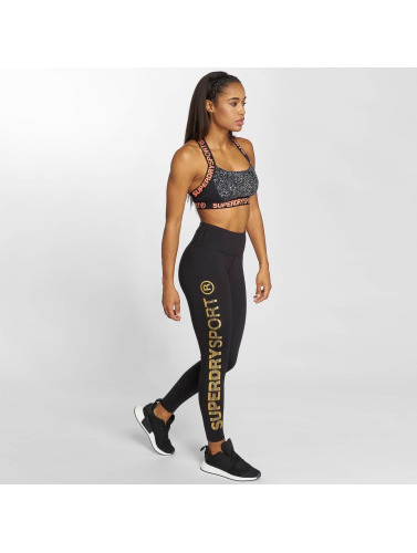 Superdry Mujeres Leggings / Tregging Gym Tech Gullmedalje I Neger utløp for online salg gratis frakt jY6R8uJZ