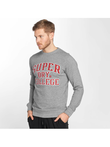 Superdry Herren Pullover Upstate Wash in grau