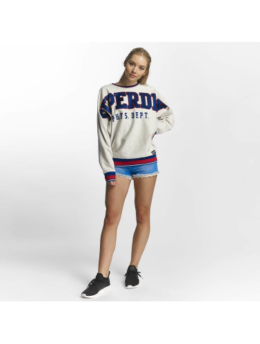 Superdry Damen Pullover Game Day in grau
