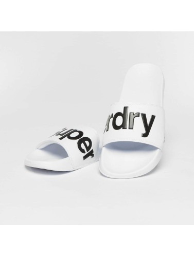Superdry Herren Sandalen Pool in weiß