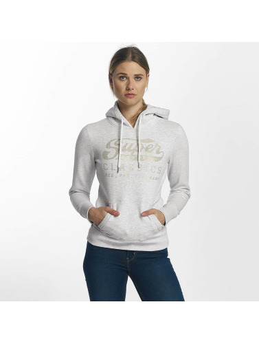 Superdry Mujeres Sudadera Classics Entry in gris