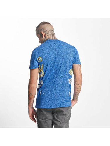 Superdry Herren T-Shirt XL Premium Goods Fade in blau