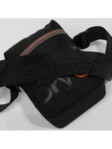 Superdry Tasche Lineman Super Side in schwarz